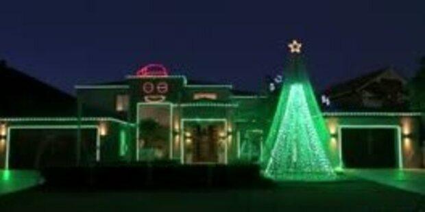 Weihnachtsbeleuchtung im