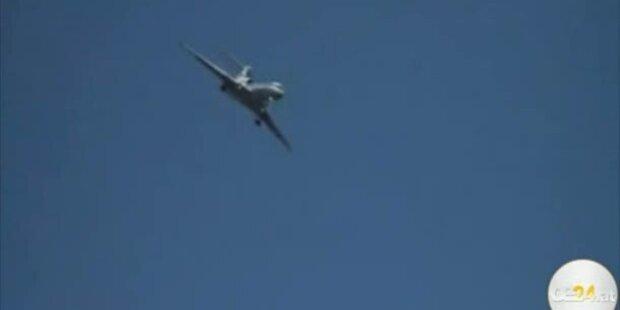Trudelndes Flugzeug schockt Russland