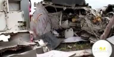 UN Flugzeug im Kongo abgestürzt