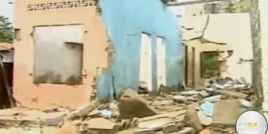 Armenviertel wegen Erdbeben evakuiert