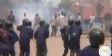 Kongo: Tränengas gegen Demonstranten