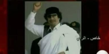 """Gaddafi: """"Angriffe gegen die Ratten und Söldner"""""""