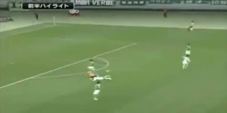 Japan-Liga: Rote Karte nach 5 Sekunden