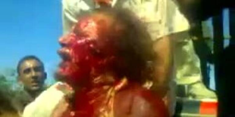 Gaddafi: Die letzte Stunde des Tyrannen