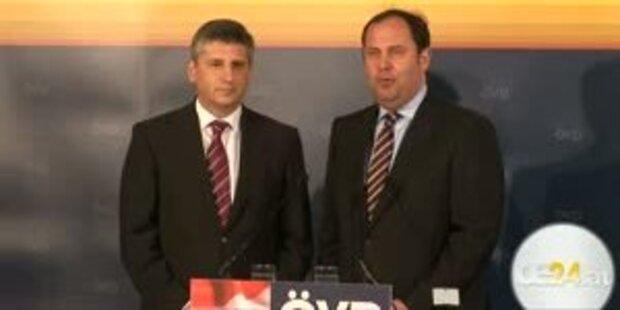 Spindelegger als neuer ÖVP Obmann vorgestellt