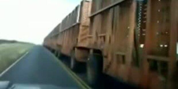 Überholmanöver bei 130m Truck