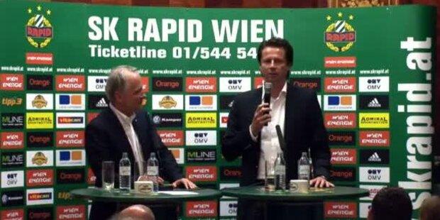 Trainer Peter Schöttel & Neue Trikot