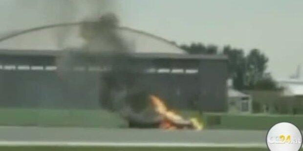 Flugzeugabsturz bei Flugshow endet tödlich