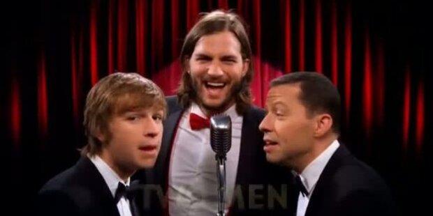 Ashton Kutcher singt in der 9. Staffel