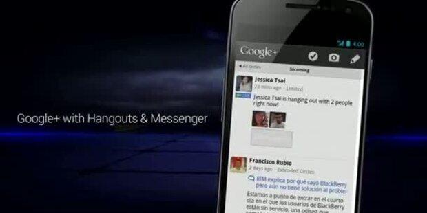 Galaxy Nexus mit Android 4.0 ist da
