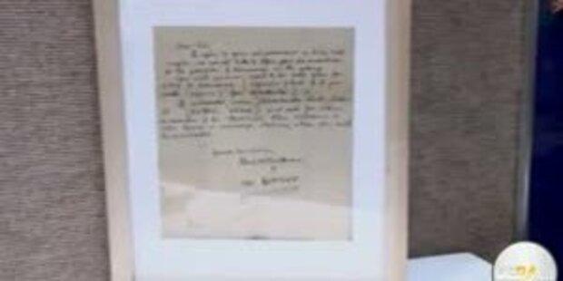 McCartney-Brief für € 40.000 versteigert
