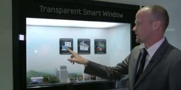 Samsung stellt Smart Window vor