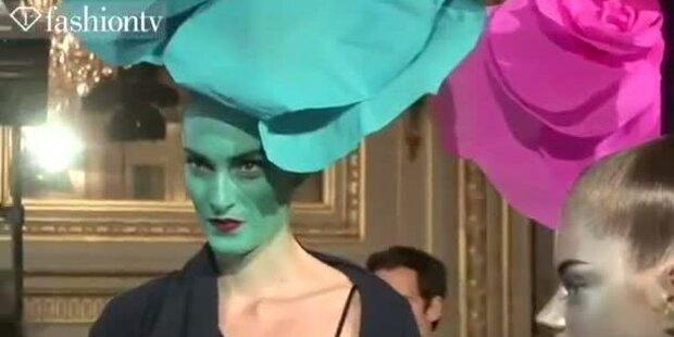 Alexis Mabille Backstage bei der Paris Fashion Week
