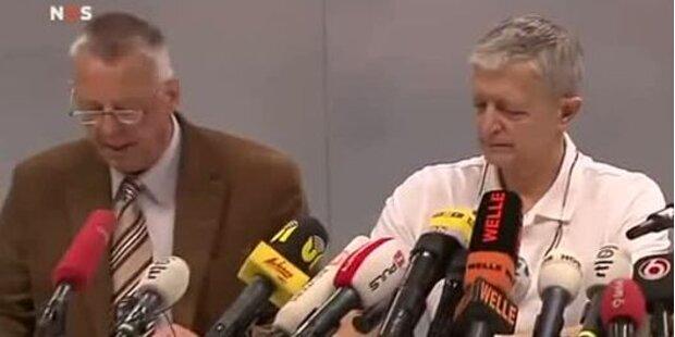 Pressekonferenz zu Prinz Frisos Zustand