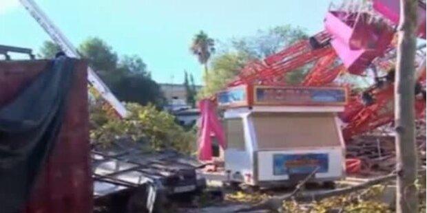 35 Verletzte: Tornado verwüstet Rummelplatz