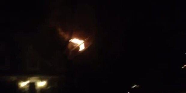 Sandy verursacht Stromleitungsbrand