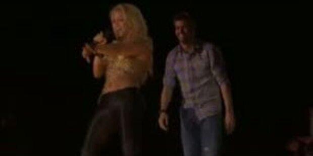 Shakira feiert Barca-Sieg mit Lover Piqué