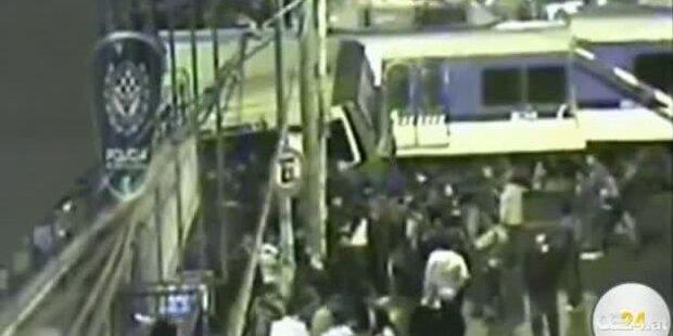Ü-Kameras filmten tödlichen Zug-Crash