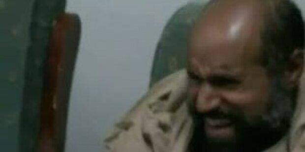 Neues Video von Saif nach Gefangennahme