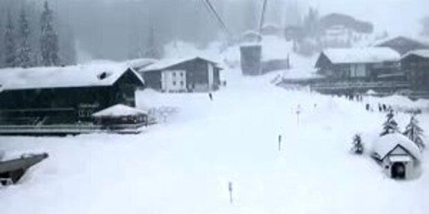 Arlberg: Lech versinkt in Schneemassen
