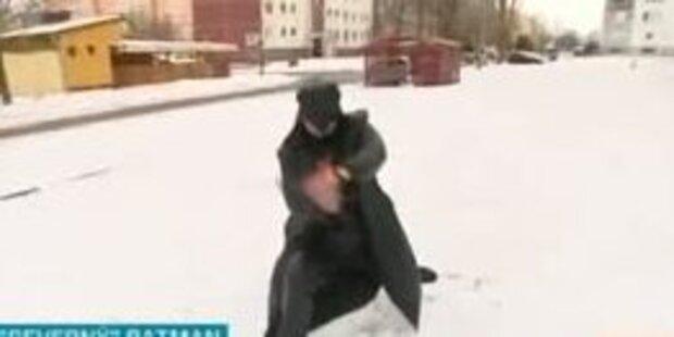 Slowakischer Batman an Grenze gesichtet
