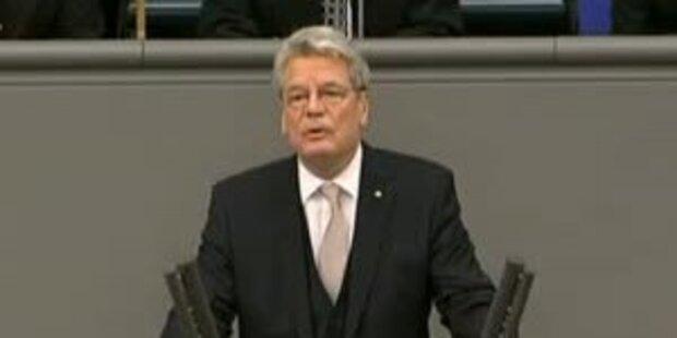 Gauck soll dem Amt die Würde zurückgeben