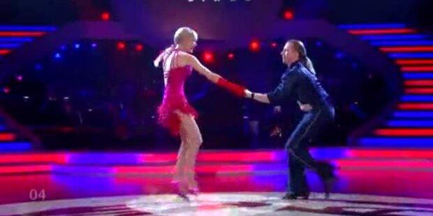Dolly Buster & Gerhard Egger tanzen Jive