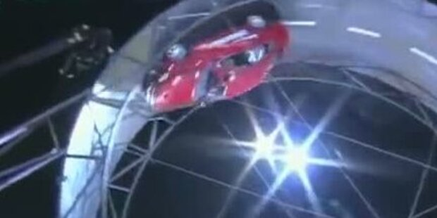 Höchstes Auto-Looping der Welt geschafft