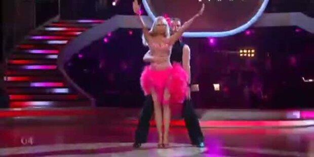 Dolly Buster & Gerhard Egger tanzen Samba