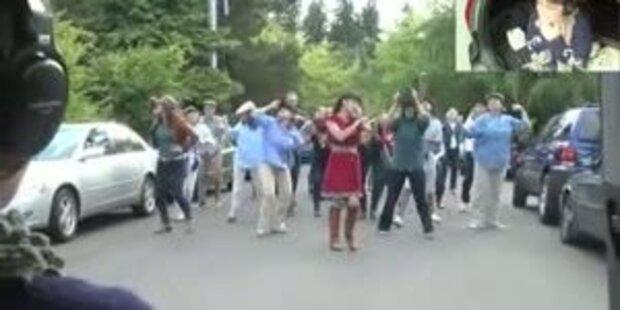 Ausgefallener Heirats- Antrag wird Video-Hit