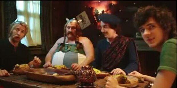 Asterix ud Oberlix - im Auftrag ihrer Majestät