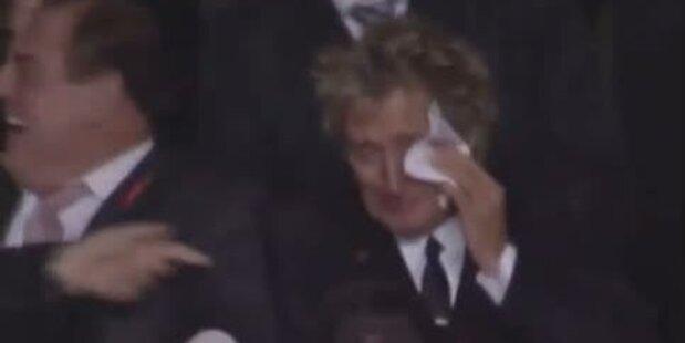 Rod Stewart weint nach Celtic-Sieg