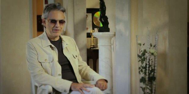 Andrea Bocelli stellt sein neues Album vor