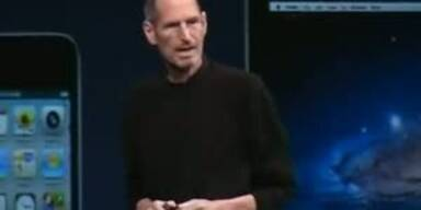 Jobs präsentiert die iCloud
