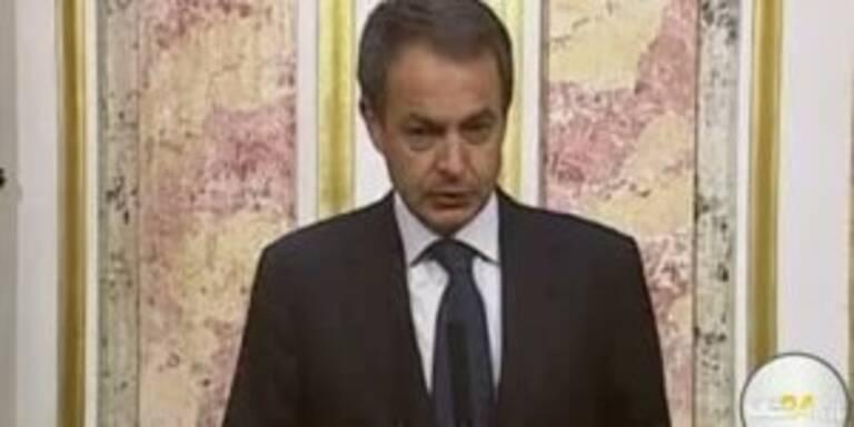 Zapatero will Erdbebenopfern helfen