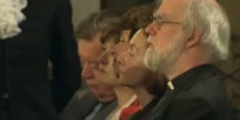 Justizminister Clarke döst bei Obamas Rede
