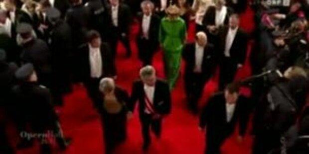 Opernball 2011 - DIe Highlights vom Red Carpet