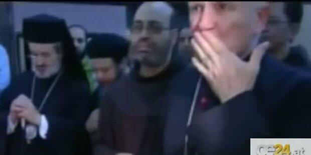 Gaddafis Sohn nach Ermordung aufgebahrt