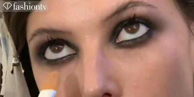 Makeup- und Styling von Versace, Gucci & Co.