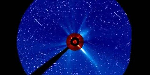 Neue Bilder der Partikelwolke
