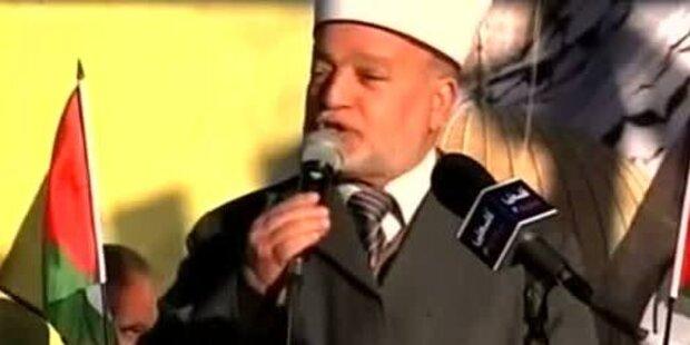 Jerusalemer Mufti - Hetzrede gegen Juden