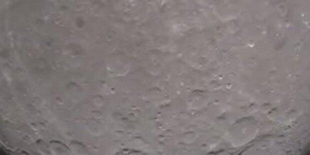 Erstes NASA Video von Mondrückseite