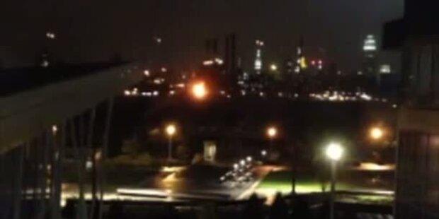 Umspannwerk explodiert in New York