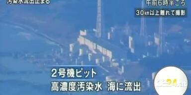 Radioaktiver Wasserfluss gestoppt