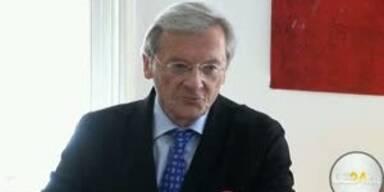 Pressekonferenz: Schüssel tritt zurück