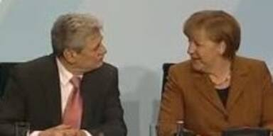 Merkel stellt Joachim Gauck vor