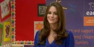 Prinzessin Kate: Öffentliche Rede in Kinderheim