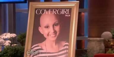 Krebskrankes Mädchen wird zu Covergirl