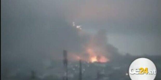 Jetzt bombardiert Sarkozy Elfenbeinküste