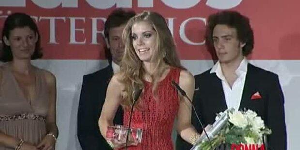 Junge Swarovskis bezaubern Award-Gala